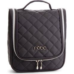 Kosmetyczka NOBO - NCOS-E07-C020 Czarny. Czarne kosmetyczki męskie marki Nobo, z materiału. W wyprzedaży za 59,00 zł.