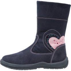 Friboo Kozaki blu. Czerwone buty zimowe damskie marki Friboo, z materiału. W wyprzedaży za 141,75 zł.