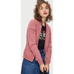 Bluzy damskie: Bluza bomberka – Różowy