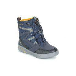 Śniegowce Dziecko Geox  J SVEGGEN BOY B ABX. Niebieskie buty zimowe chłopięce Geox. Za 349,00 zł.