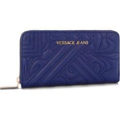 Duży Portfel Damski VERSACE JEANS - E3VSBPZ1  70792 239. Niebieskie portfele damskie Versace Jeans, z jeansu. Za 369,00 zł.