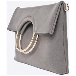 Answear - Torebka Garden of Dreams. Czarne torebki klasyczne damskie ANSWEAR, w paski, z materiału, średnie. W wyprzedaży za 79,90 zł.