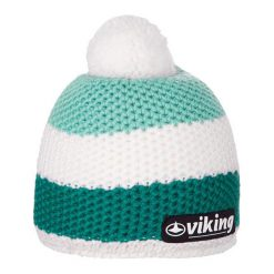 Czapki męskie: Viking Czapka Windstopper biało-turkusowa (2156243)