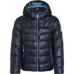 Reima PETTERI Kurtka zimowa navy. Niebieskie kurtki chłopięce zimowe marki Reima, z materiału. W wyprzedaży za 335,20 zł.