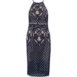 Sukienki hiszpanki: Bardot MILA  Sukienka koktajlowa french blue