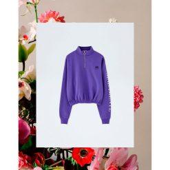 Fioletowa bluza Pull&Bear by Rosalía. Fioletowe bluzy damskie Pull&Bear. Za 99,90 zł.