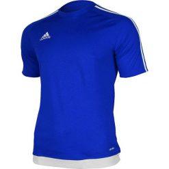 Adidas Koszulka piłkarska męska Estro 15 niebiesko-biała r. L (S16148). Białe koszulki do piłki nożnej męskie marki Adidas, l. Za 39,00 zł.