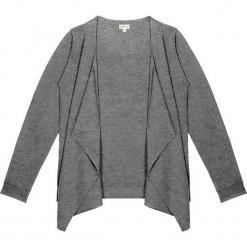 Sweter kaszmirowy 2w1 w kolorze szarym. Szare kardigany damskie marki Ateliers de la Maille, z kaszmiru. W wyprzedaży za 591,95 zł.