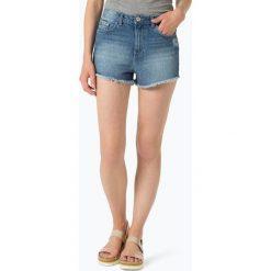 Bermudy damskie: Review – Damskie krótkie spodenki jeansowe, niebieski