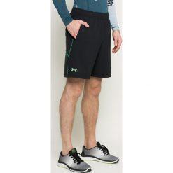 Under Armour - Szorty. Szare spodenki sportowe męskie marki Under Armour, l, z dzianiny, z kapturem. W wyprzedaży za 149,90 zł.