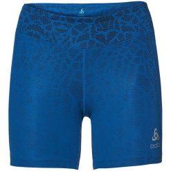Odlo Spodnie tech. Odlo Bottom Short OMNIUS Print  - 321861 - 321861/20433/S. Niebieskie spodnie sportowe damskie marki Odlo, s. Za 147,37 zł.