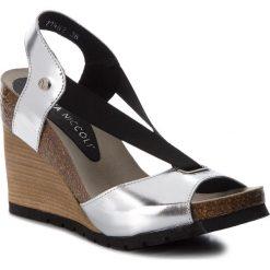 Sandały damskie: Sandały NIK – 07-0165-04-5-23-02 Srebrny