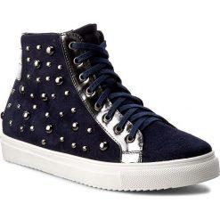Botki SERGIO BARDI - Adrienne FS127238617MP  807. Niebieskie buty zimowe damskie Sergio Bardi, ze skóry, sportowe, na sznurówki. W wyprzedaży za 209,00 zł.