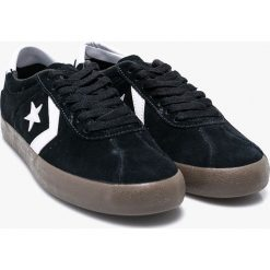 Converse - Tenisówki. Czarne tenisówki męskie Converse, z gumy, na sznurówki. W wyprzedaży za 229,90 zł.