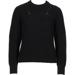 Sweter w kolorze czarnym. Czarne swetry klasyczne damskie Gottardi, s, z wełny, z okrągłym kołnierzem. W wyprzedaży za 130,95 zł.