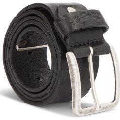 Pasek Męski WRANGLER - Metal Tip Belt W0B60U101 85 Black. Czarne paski męskie Wrangler, w paski, ze skóry. W wyprzedaży za 159,00 zł.