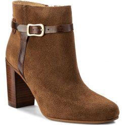 Botki GANT - Alma 15541051 Cognac G45. Brązowe buty zimowe damskie GANT, ze skóry, na obcasie. W wyprzedaży za 469,00 zł.