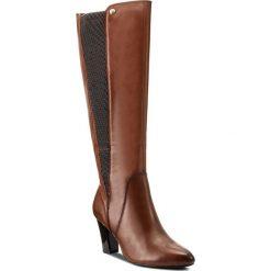Kozaki CAPRICE - 9-25530-29 Cognac Nappa 303. Szare buty zimowe damskie marki Caprice, z gumy. W wyprzedaży za 359,00 zł.