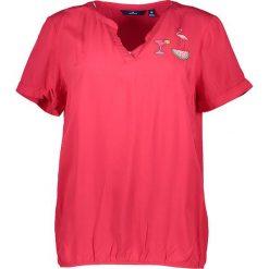 Bluzki asymetryczne: Koszulka w kolorze czerwonym