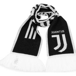 Szalik adidas - Juve Scarf CY5570  Black/White. Białe szaliki damskie marki Adidas, m. Za 79,95 zł.