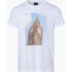 BOSS Casual - T-shirt męski – Topwork 2, czarny. Czarne t-shirty męskie BOSS Casual, m, z bawełny. Za 179,95 zł.