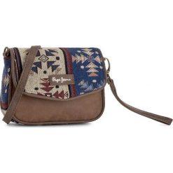 Torebki i plecaki damskie: Torebka PEPE JEANS - 7554751  Brązowy Kolorowy