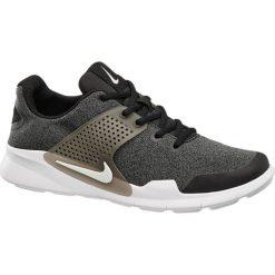 Buty męskie Nike Arrowz NIKE czarno-szare. Czarne halówki męskie marki Asics, do piłki nożnej. Za 299,90 zł.