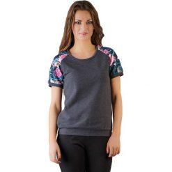 Topy sportowe damskie: Bluzka w kolorze szarym