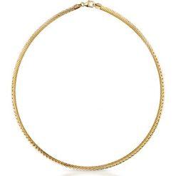 RABAT Naszyjnik - złoto żółte 585. Szare naszyjniki damskie marki Reserved, srebrne. W wyprzedaży za 2390,00 zł.