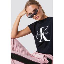 Odzież: Calvin Klein T-shirt Taka Crew Neck - Black