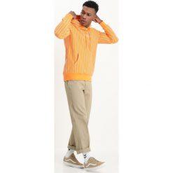 HUF SUTTER STRIPE Bluza z kapturem cantaloupe. Czarne bluzy męskie rozpinane marki HUF, z gumy. Za 419,00 zł.