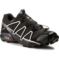 Buty SALOMON - Speedcross 4 Gtx GORE-TEX 383181 26 G0 Black/Black/Silver Metallic-X. Czarne buty do biegania męskie marki Camper, z gore-texu, gore-tex. W wyprzedaży za 499,00 zł.