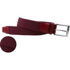Pasek PAA0016220. Czerwone paski męskie Giacomo Conti, w paski, z bawełny. Za 89,00 zł.
