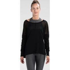 Lorna Jane BROOKLYN  Bluzka z długim rękawem black. Czarne bluzki damskie Lorna Jane, xs, z bawełny, z długim rękawem. W wyprzedaży za 167,20 zł.