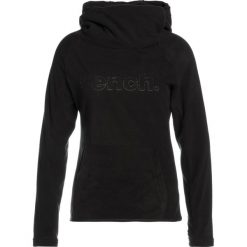 Bluzy polarowe: Bench OVERHEAD HOODY Bluza z polaru black beauty