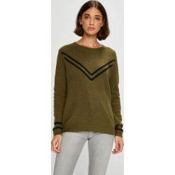 Roxy - Sweter Town Crew. Brązowe swetry klasyczne damskie marki Roxy, l, z dzianiny, z okrągłym kołnierzem. W wyprzedaży za 239,90 zł.