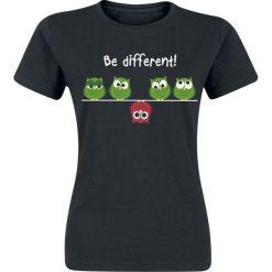 Bluzki asymetryczne: Be Different! Koszulka damska czarny