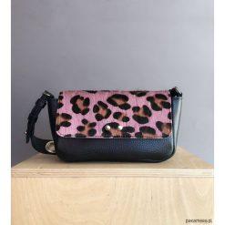 Skórzana torebka Sugar LOVE Zip Różowa Pantera. Czerwone torebki klasyczne damskie Pakamera, z motywem zwierzęcym. Za 340,00 zł.