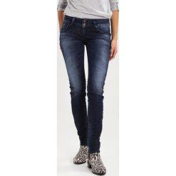 LTB MOLLY Jeansy Slim Fit bliss wash. Niebieskie jeansy damskie marki LTB, z bawełny. W wyprzedaży za 223,20 zł.