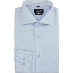 Koszula spello 1988 długi rękaw slim fit niebieski. Czerwone koszule męskie slim marki Recman, m, z długim rękawem. Za 29,99 zł.