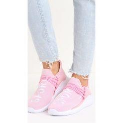 Różowe Buty Sportowe Entien. Fioletowe buty sportowe damskie marki KALENJI, z gumy, do biegania. Za 79,99 zł.