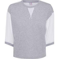 Bluzy rozpinane damskie: Bluza DEHA EXPRESSION Biały|Szary