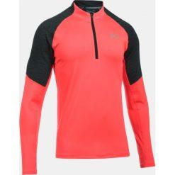 Bluzy męskie: Under Armour Bluza męska Threadborne™ Run 1/4 Zip czerwono-grafitowa r. XXL (1298836-963)