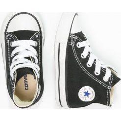 Converse CHUCK TAYLOR AS CORE Tenisówki i Trampki wysokie black. Czarne trampki chłopięce marki Converse, z włókna. Za 169,00 zł.