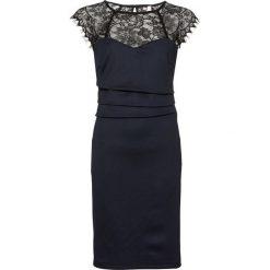 Sukienka bonprix ciemnoniebiesko-czarny. Czarne sukienki koronkowe marki bonprix. Za 149,99 zł.
