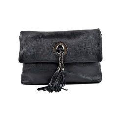 Torebka w kolorze czarnym - (S)32 x (W)24,4 x (G)13 cm. Czarne torebki klasyczne damskie Bestsellers bags, w paski, z materiału. W wyprzedaży za 229,95 zł.