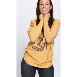 Żółty Sweter Perfect Day. Żółte swetry klasyczne damskie Born2be, l, z dekoltem w łódkę. Za 79,99 zł.
