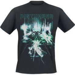 Disturbed Apocalypse T-Shirt czarny. Czarne t-shirty męskie z nadrukiem Disturbed, xxl, z okrągłym kołnierzem. Za 74,90 zł.