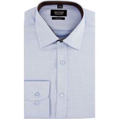 Koszula bexley 2270 długi rękaw slim fit niebieski. Niebieskie koszule męskie slim Recman, m, z długim rękawem. Za 149,00 zł.