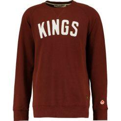 Kings Of Indigo BALDWIN Bluza burgundy. Czerwone kardigany męskie Kings Of Indigo, m, z bawełny. Za 459,00 zł.